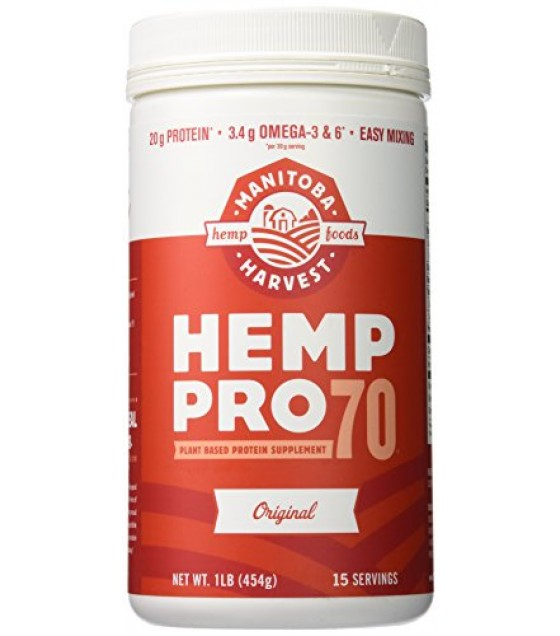 [Manitoba Harvest] Protein Powder Hemp Pro 70, Concentrated