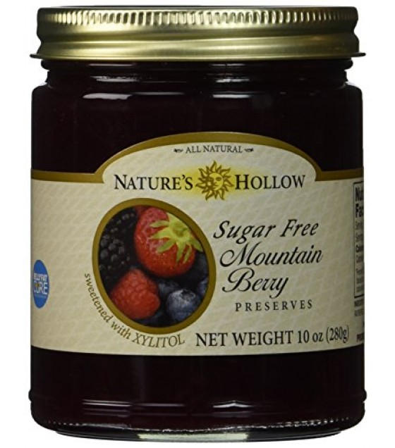 [Nature`S Hollow] Preserves Mountain Berry, Sugar Free