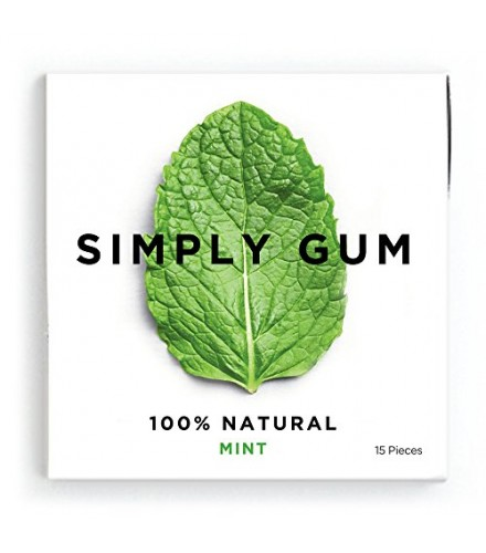 [Simply Gum]  Natural Mint