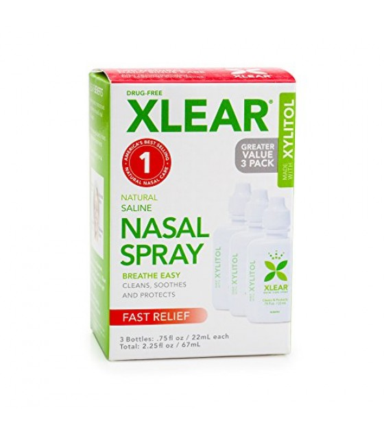 [Xlear]  Sinus Spray,Economy Size