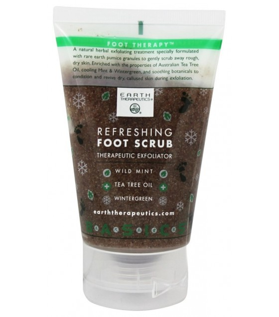 [Earth Therapeutics] FOOT SCRUB,REFRESHING