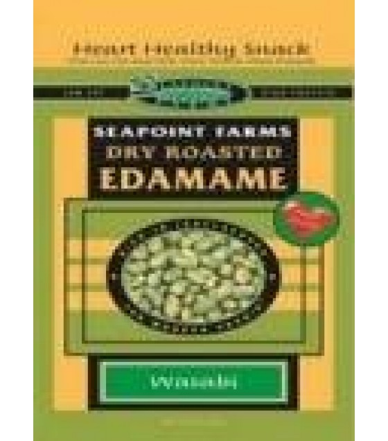 [Seapoint Farms] Edamame, Ready to Eat Dry Roasted, Lightly Salted