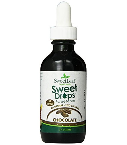 [Sweet Leaf] Liquid Stevia Sweetner, Sweet Drops SteviaClear, Chocolate