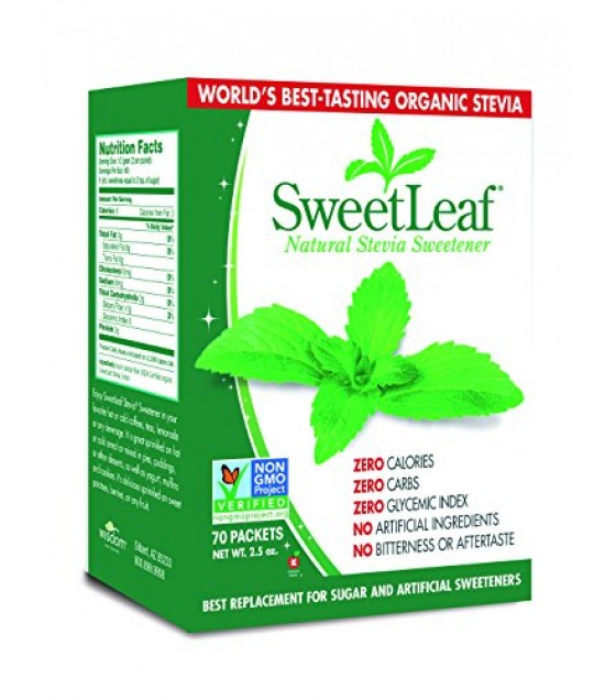 [Sweet Leaf]  Stevia Plus Sweetener, Packets