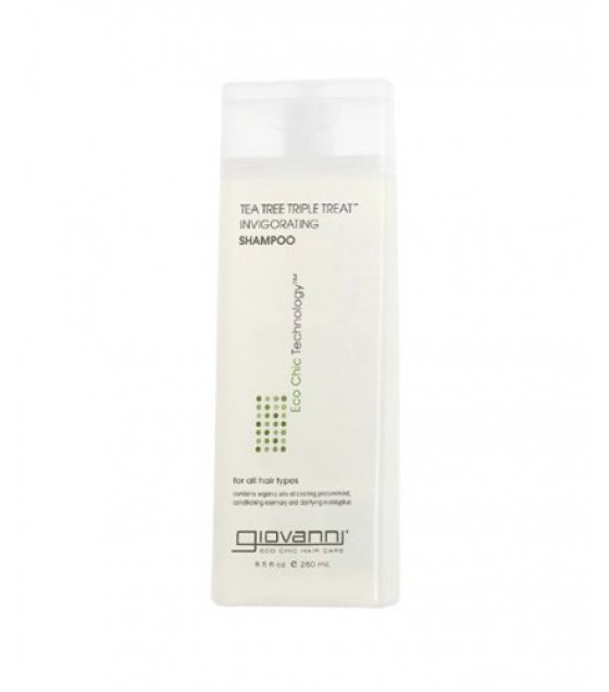 [Giovanni] Hair Care Products Shampoo, Tea Tree Triple Treat