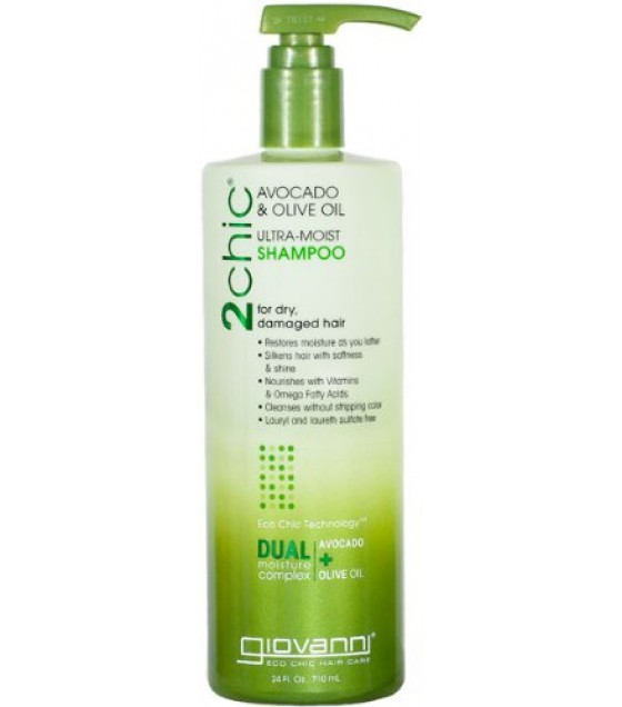 [Giovanni] 2Chic Moist Collection Shampoo, Avocado & Olive Oil