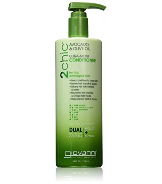 [Giovanni] 2Chic Moist Collection Conditioner, Avocado & Olive Oil