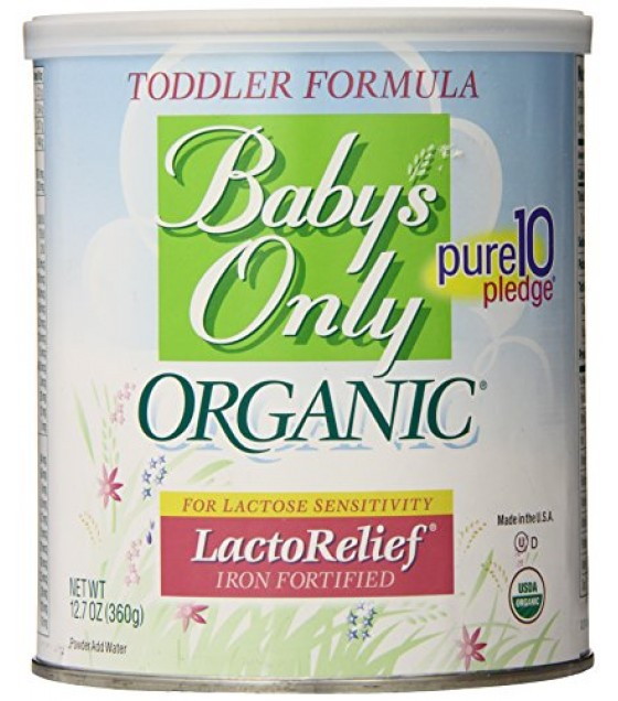 [Babys Only Organic] Toddler Formula Lactose Free, Powder  At least 95% Organic