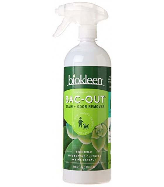 [Bi-O-Kleen] Household Cleaners Bac Out w/Foaming Action Sprayer