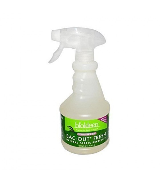 [Bi-O-Kleen] Natural Fabric Refresher Bac Out Fresh, Lavender