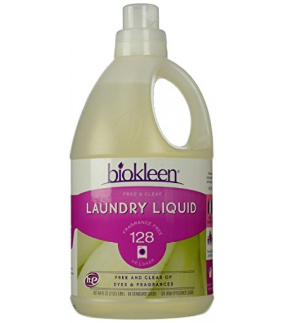 [Bi-O-Kleen] Laundry Products Free & Clear Laundry Liquid