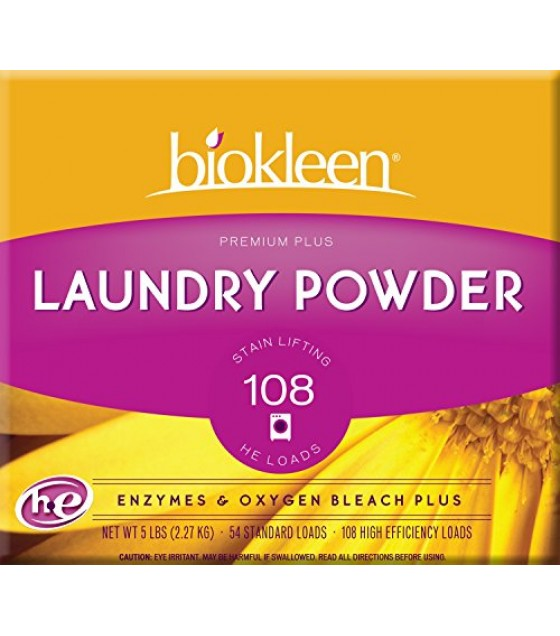 [Bi-O-Kleen] Laundry Products Laundry Powder, Premium