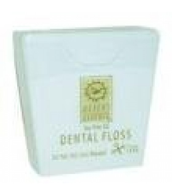 [Desert Essence] Oral Care Dental Floss, Tea Tree Oil