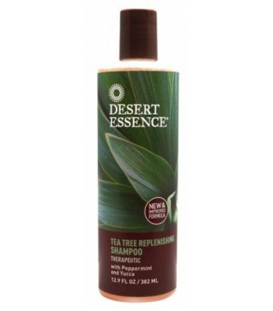 [Desert Essence] Hair Care Shampoo, Tea Tree Daily Replenishing