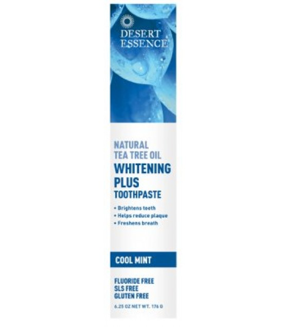 [Desert Essence] Toothpaste Nat Tea Tree Oil Whitening+