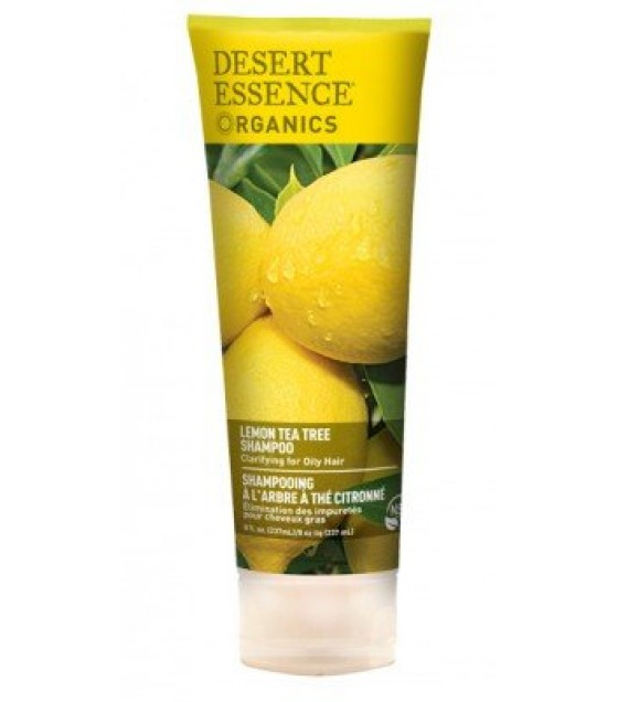[Desert Essence] Desert Essence Organics Shampoo, Lemon Tea Tree