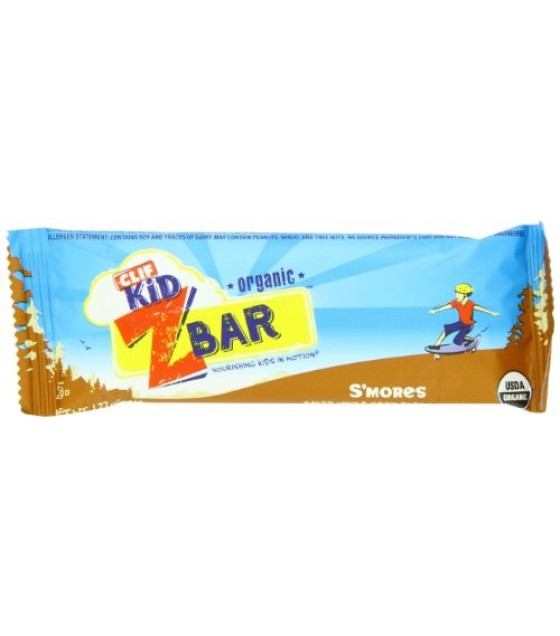 [Clif Bars] ZBars S`mores  At least 95% Organic