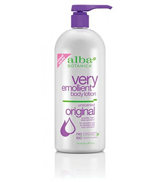 [Alba Botanica] Lotions Very Emollient Unscented Body