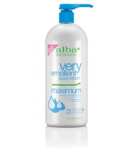 [Alba Botanica] Lotions Very Emollient Max Dry Skin