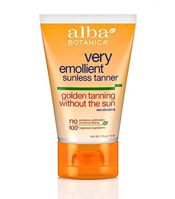 [Alba Botanica] Suncare Products Tanning Lotion, Sunless