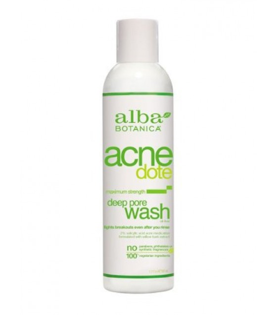 [Alba Botanica] Natural ACNEdote Deep Pore Wash