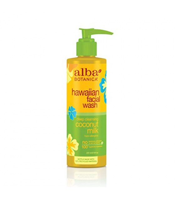 [Alba Botanica] Hawaiian Skin Care Coconut Milk Facial Wash