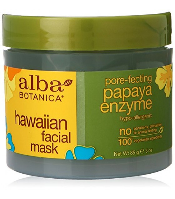 [Alba Botanica] Hawaiian Skin Care Papaya Enzyme Facial Mask