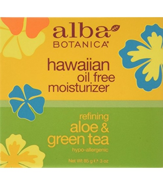 [Alba Botanica] Hawaiian Skin Care Aloe & Green Tea Oil Free Moisturizer