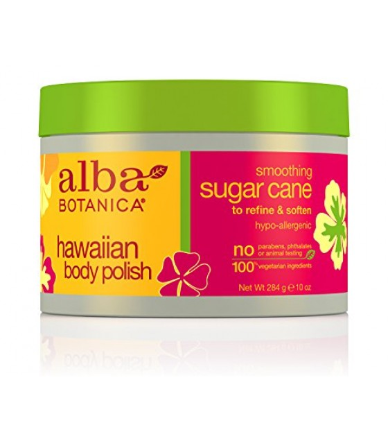 [Alba Botanica] Hawaiian Spa Treatment Sugar Cane Body Polish