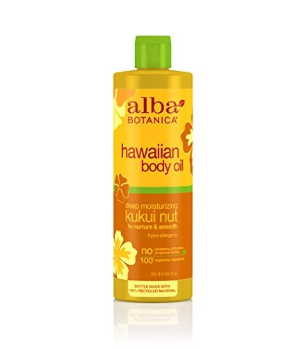 [Alba Botanica] Hawaiian Spa Treatment Kukui Nut Body & Massage Oil