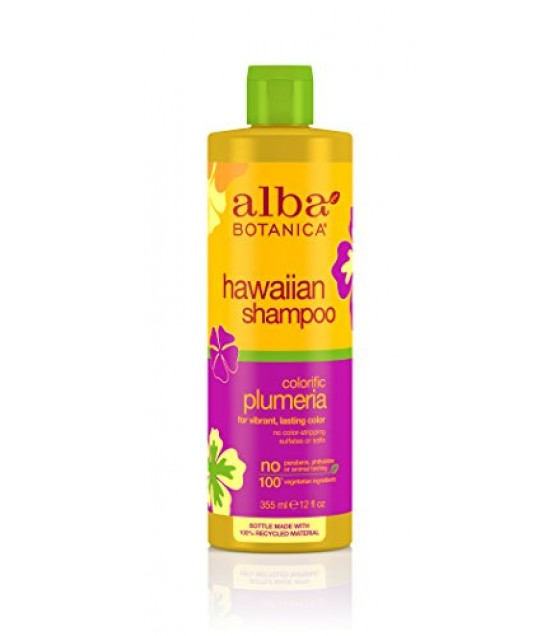 [Alba Botanica] Hawaiian Hair Care Plumeria Replenishing Hair Wash
