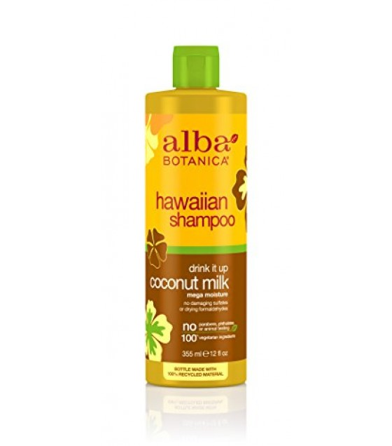 [Alba Botanica] Hawaiian Hair Care Coconut Milk Extra-Rich Hair Wash