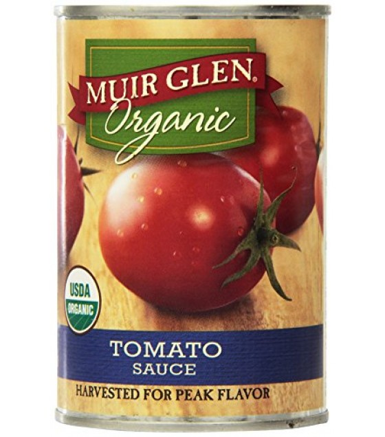 [Muir Glen] Canned Tomatoes Sauce  At least 95% Organic