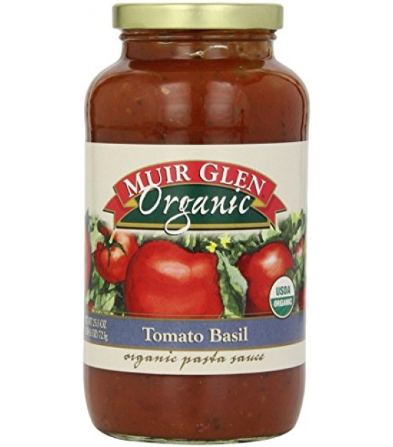 [Muir Glen] Organic Pasta Sauces Tomato Basil  At least 95% Organic