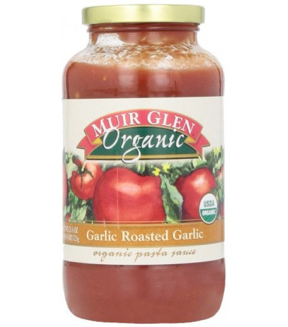 [Muir Glen] Organic Pasta Sauces Roasted Garlic  At least 95% Organic