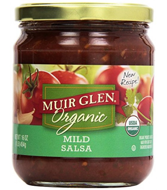 [Muir Glen] Fat Free Salsa Mild  At least 95% Organic