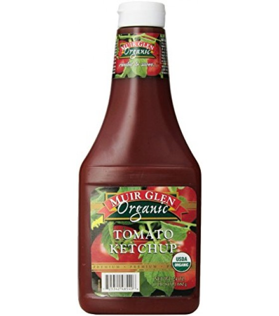 [Muir Glen] Condiments Tomato Ketchup  At least 95% Organic