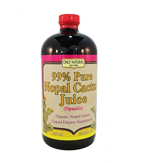 [Only Natural]  Juice Nopal Cactus