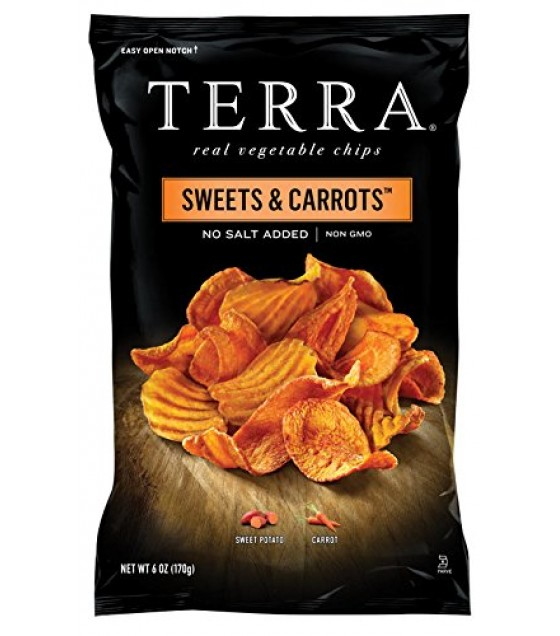 [Terra Chips] Sweet Potato Chips Sweets & Carrots