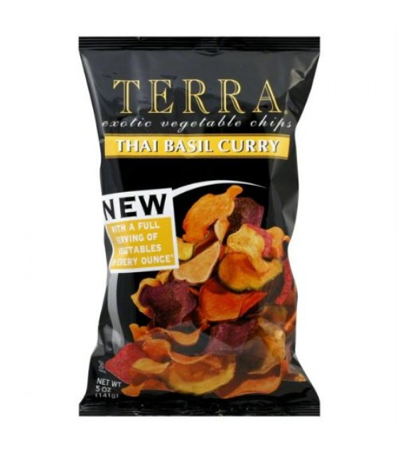 [Terra Chips] Exotic Vegetable Chips Thai Basil Curry