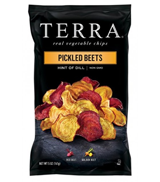 [Terra Chips] Real Vegetable Chips Pickled Beet, Hint of Dill