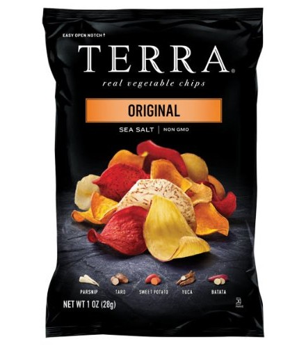[Terra Chips] Snack Size Chips Exotic Original 24pc