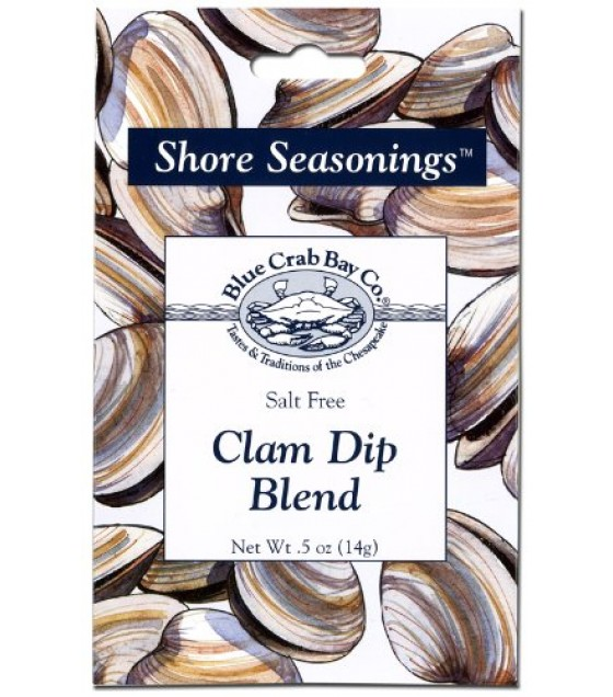 [Blue Crab Bay Co] Shore Seasonings & Dip Mixes Clam Dip Blend
