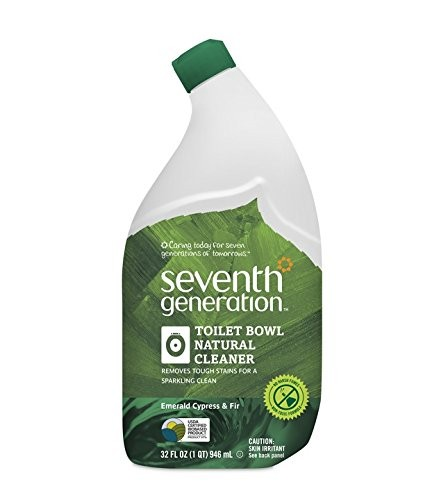 [Seventh Generation] Biodegradable Household Cleaning Products Toilet Bowl, Emerald Cypress & Fir