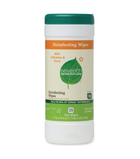 [Seventh Generation] Biodegradable Household Cleaning Products Multi-Surface Wipes