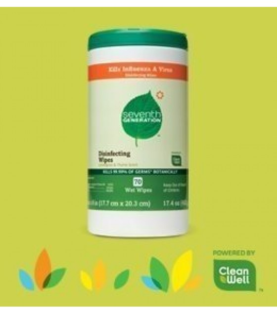 [seventh Generation] Disinfecting Multi-surface Wipes