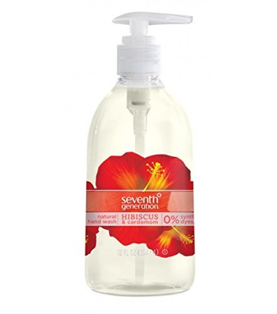 [seventh Generation] Hand Wash,hibiscus&cardam