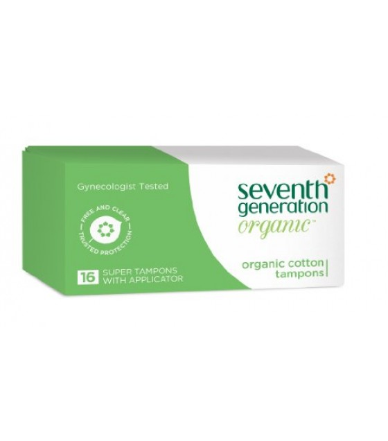 [Seventh Generation] Feminine Hygiene Products Tampons, Super, Applicator