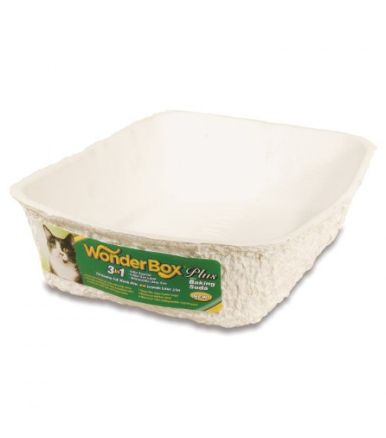 [Wonderbox]  Disposable Litter Box, Single