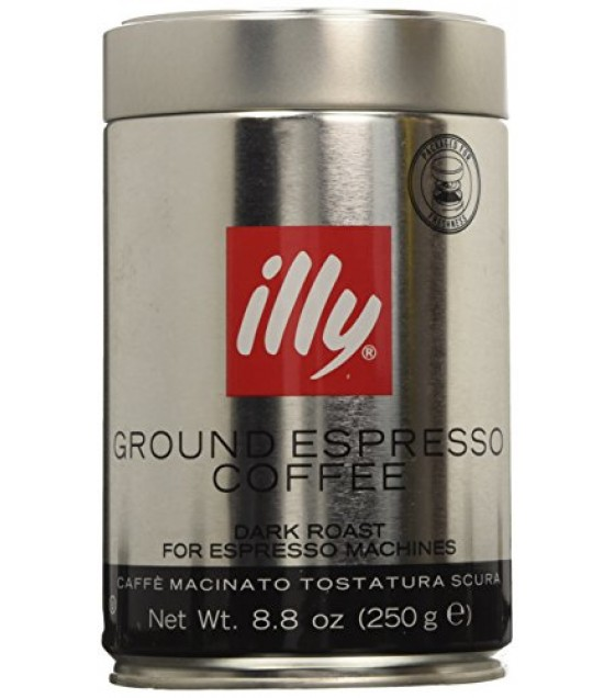 [Illy Caffe] Ground Espresso Dark Roast